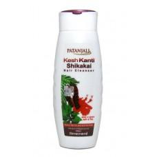 Patanjali Kesh Kanti Shikakai Hair Cleanser (Шампунь Патанджали Кеш Канти Шикакай придаёт волосам блеск, здоровый вид, укрепляет волосы)